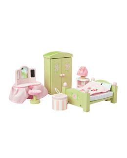 "Le Toy Van ""Daisylane"" Master Bedroom Dollhouse Furniture"