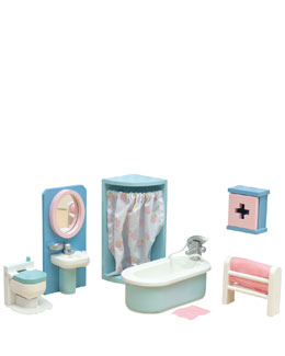 "Le Toy Van ""Daisylane"" Bathroom Dollhouse Furniture"