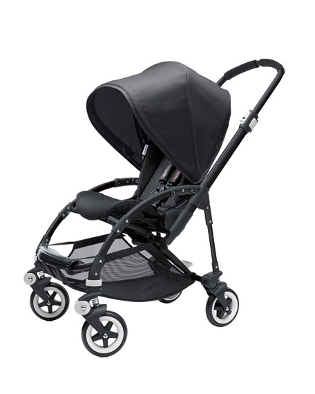 Bee Stroller Base & Sun Canopy, Black