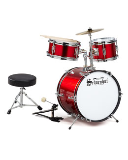 Schoenhut Five-Piece Child's Drum Set