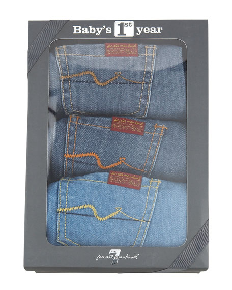 1st Year Baby Denim Set