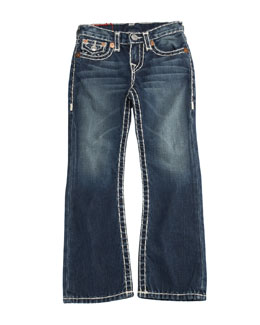 True Religion Billy Boot-Cut Jeans, Size 2-10