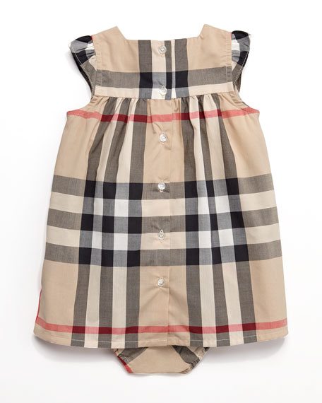 Exploded Check Dress & Bloomers
