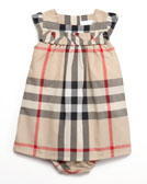 Burberry Exploded Check Dress & Bloomers