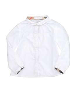 Burberry Tallori Long-Sleeve Button-Down Shirt