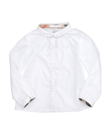 Serena Tallori Long-Sleeve Button-Down Shirt