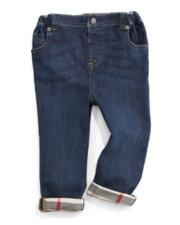 Burberry Five-Pocket Denim Trousers