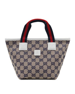 Gucci Web-Trim Original GG Bag