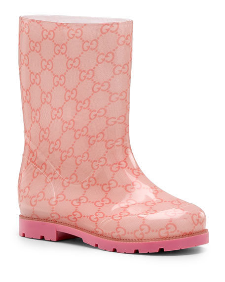 GG Rain Boot, Pink, Youth