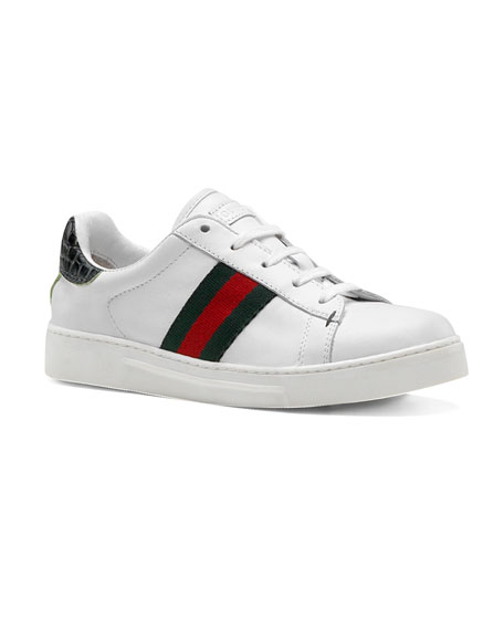 Ace Lace-Up Sneaker, Youth
