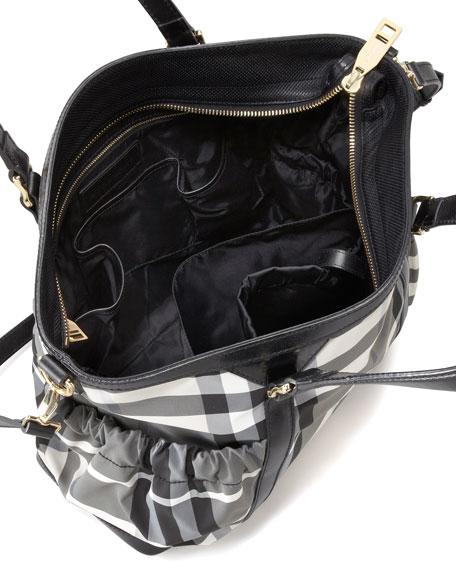 Beat Check Diaper Tote Bag