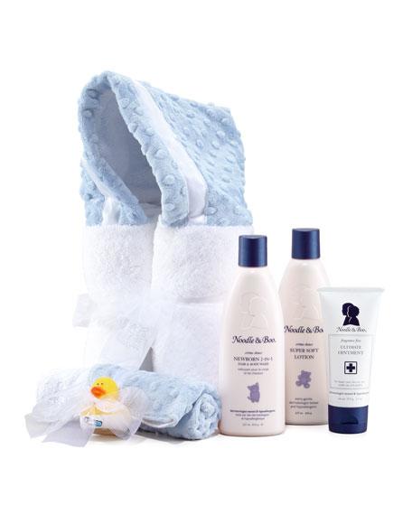 Bath Gift Set, Blue