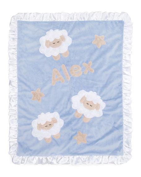 Blue Sheep Blanket, Plain