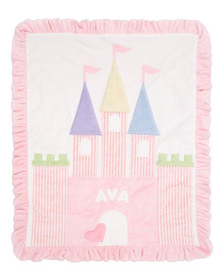 Fairy Tale Castle Blanket, Personalized