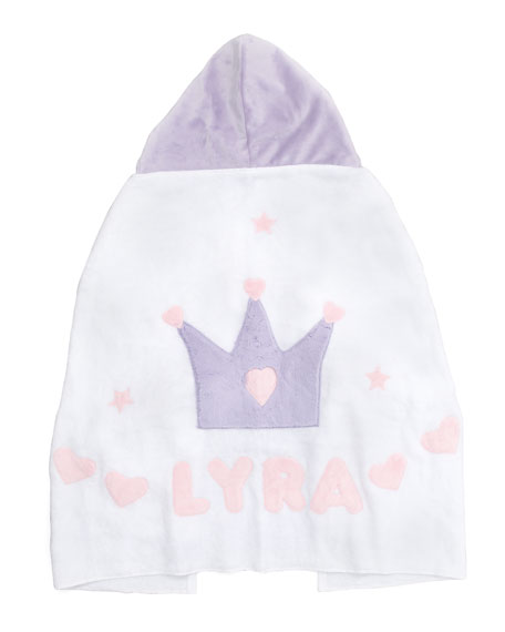 Crown Hooded Towel, Personalized