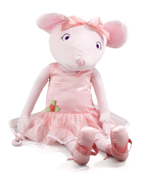 Dance With Me Angelina Ballerina Plush Doll, Big