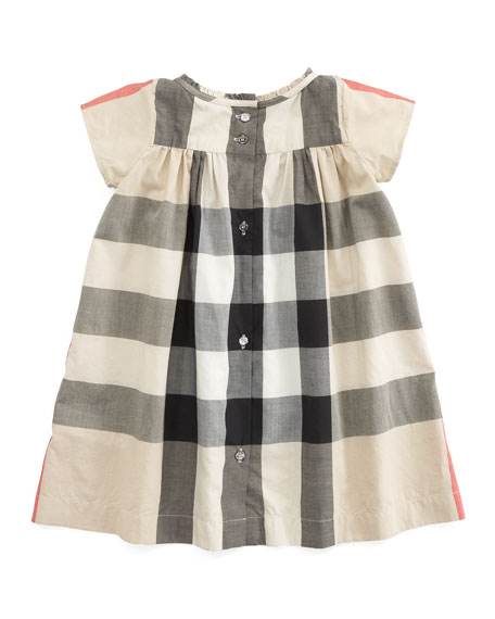 Giant Exploded Check Dress, New Classic