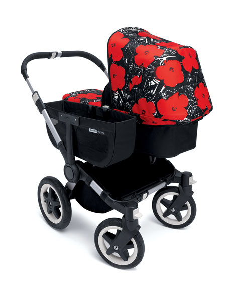 Bugaboo Andy Warhol Donkey Flowers Tailored Fabric Set