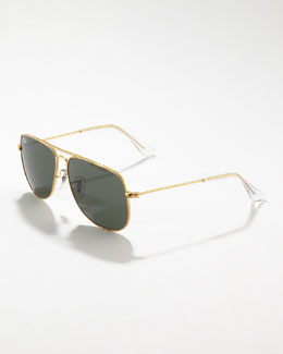Ray-Ban Junior Aviator Sunglasses, Gold