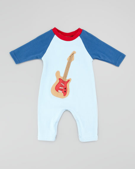 Garage Band Playsuit, 3-9 Months
