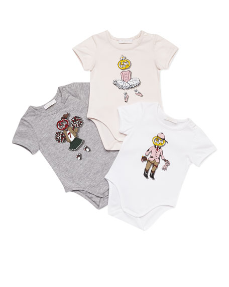 Interlocking G Sport-Print Gift Set, Gray/White/Pink