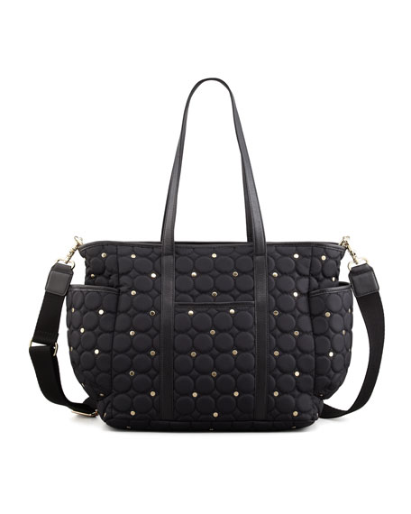 Rebecca Minkoff Marissa Quilted Diaper Bag, Black : quilted diaper bags - Adamdwight.com