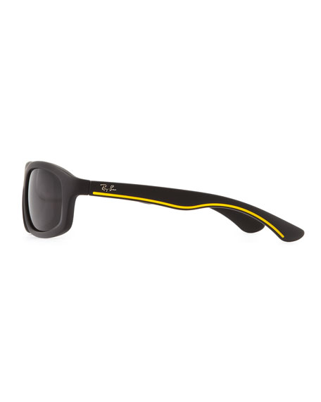 Kid's Matte Sunglasses, Black