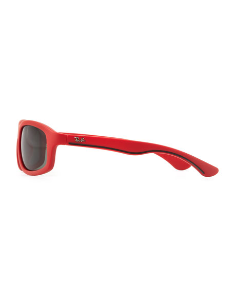 Kid's Matte Sunglasses, Red