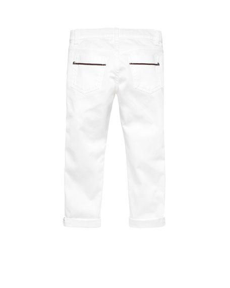 Skinny Stretch-Denim Jeans, Multi, Sizes 4-10