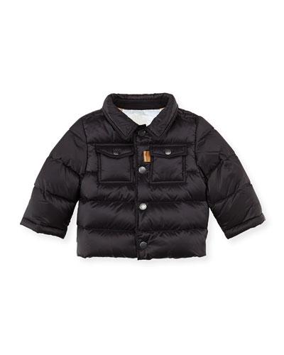 Burberry Nylon Puffer Coat, Black, 3M-2Y
