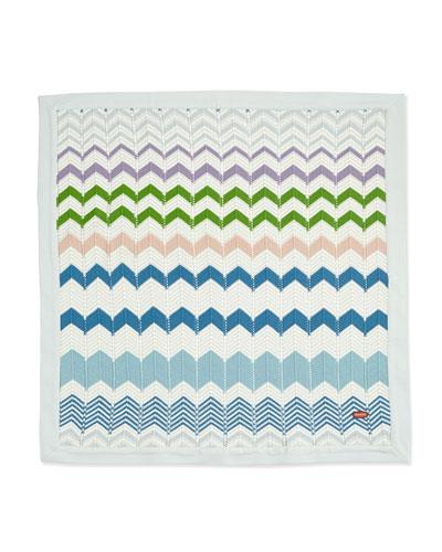 Missoni Zigzag Knit Baby Blanket