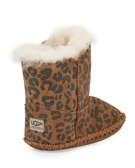 Cassie Leopard-Print Boot, Infant Sizes 0-12 Months