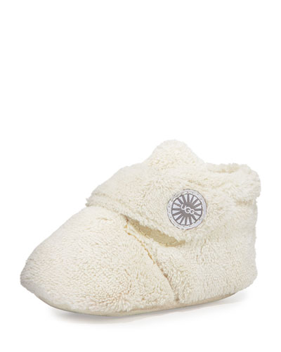 Bixbee Terry Cloth Bootie, Vanilla