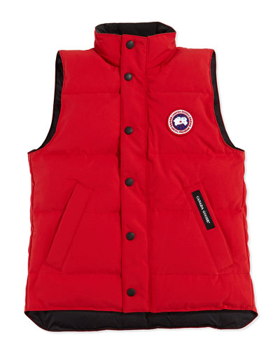 Youth Vanier Arctic-Tech Vest, Red, XS-XL