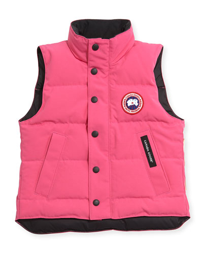 Youth Vanier Arctic-Tech Vest, Summit Pink, XS-XL