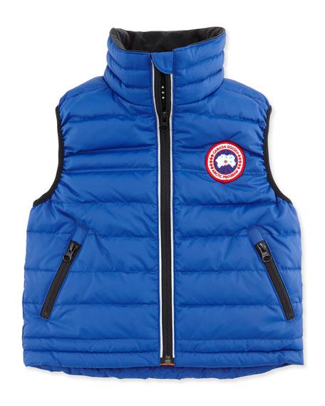 Canada Goose Kids' Bobcat Puffer Vest, Royal, Sizes