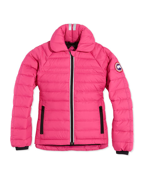 Canada Goose Youth Charlotte Quilted Jacket, Summit Pink,