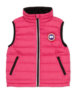 Canada Goose Bobcat Puffer Vest, Summit Pink, Girls' Sizes 2-7