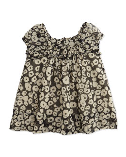 Burberry Printed Silk Dress and Bloomers, Girls' 3-24 Months
