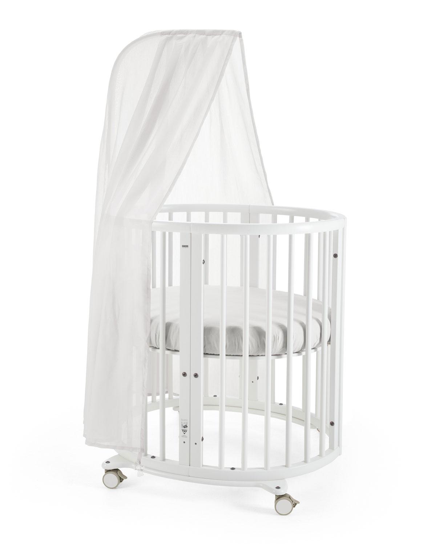 Stokke Sleepi Mini Baby Crib Bundle Canopy For Stokke