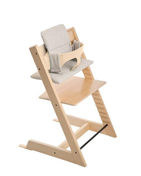 Tripp Trapp® Seat Cushion, Gray Loom