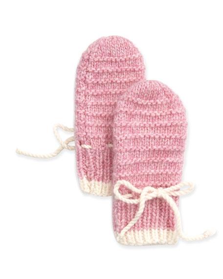Brora Cashmere Knit Mittens
