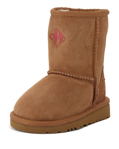 Classic Boot, Chestnut, Toddler