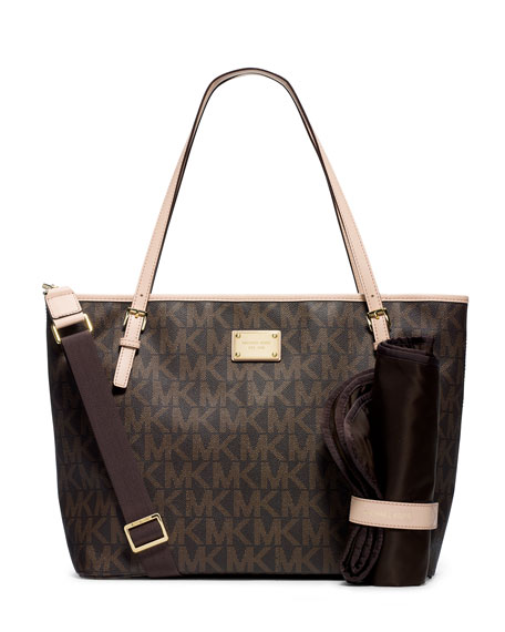 Jet Set Diaper Bag Brown
