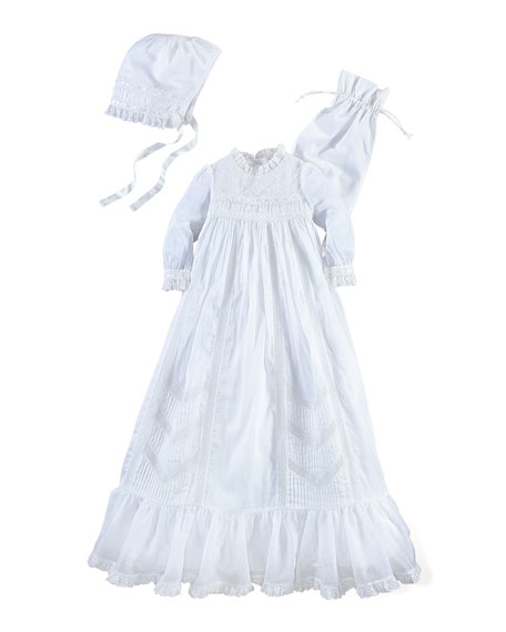 Ralph Lauren Childrenswear Cotton Special Occasion Set, White,