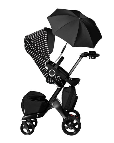 True Black Xplory Limited Adjustable Stroller