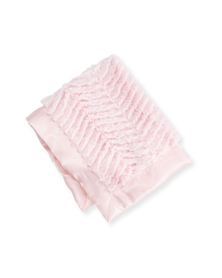 Swankie Blankie Ziggy Security Blanket, Pink