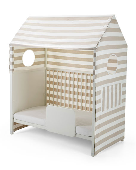 Stokke Home™ Toddler Bed Tent, Beige/White