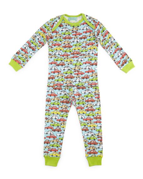 Bedhead Hot Wheels Pajama Shirt & Pants, Light
