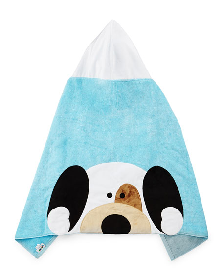 Boogie Baby Peek-A-Boo Hooded Towel, Blue